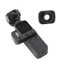 Osmo bolso filiter lente da câmera grande angular portátil handheld cardan lidar com câmera lente magnética para dji osmo acessórios de bolso