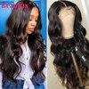Beaufox-شعر مستعار ماليزي مموج طبيعي ، شعر ريمي عالي الجودة ، مع فراق في المنتصف ، للنساء
