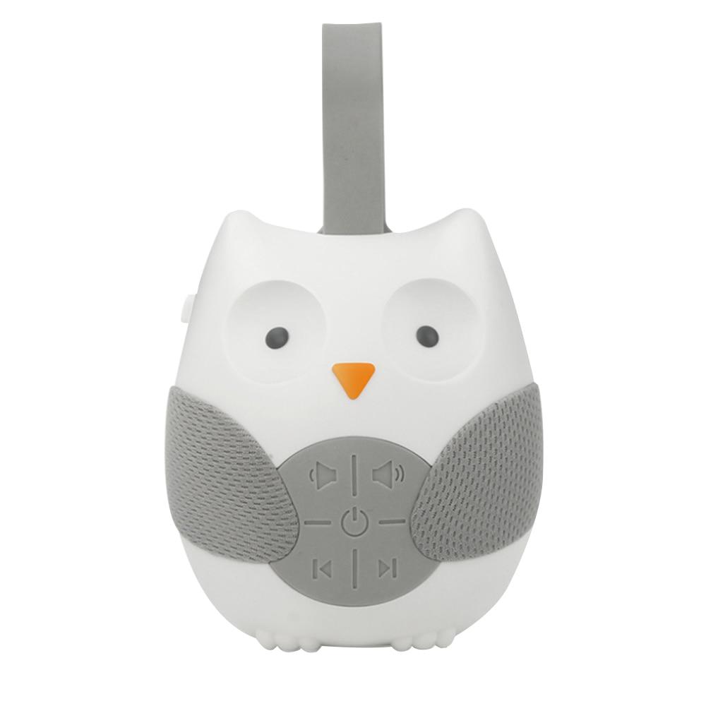 Owl Baby White Noise Machine Portable On-The-Go Infant Timed Shutdown Baby Sleep Sound Machine Baby Sleep Aid Sound