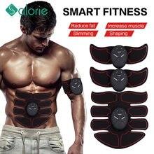 2/4/6/8 pz Wireless Hip Trainer macchina addominale stimolatore muscolare elettrico ABS ems Trainer corpo dimagrante cintura da massaggio Unisex
