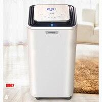 Dh02 23l/dia desumidificação desumidificador de ar casa quarto mudo porão indústria alta potência absorvente secador|air dehumidifier|moisture absorber|mini dehumidifier -
