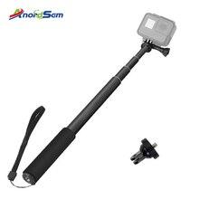 Монопод, селфи Палка для Gopro, выдвижная палка для селфи, водонепроницаемая ручная палка, крепление для GoPro Hero 7 6 5 Xiaoyi 4K DJI