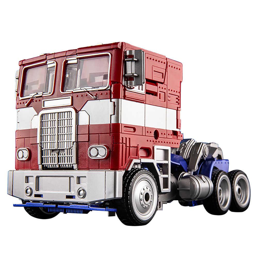 BMB AOYI H6003-6 transformacja zabawka Op dowódca silnik gwiazda figurka Model filmowy KO MPM04 zdeformowany samochód Robot Figma