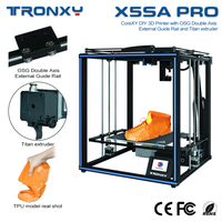 X5SA 3D printer CoreXY DIY Kit Large print Size X5SA PRO/X5SA-400 PRO/X5SA-500 PRO TRONXY multi-function 3D Printer 24V version