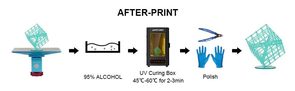 ANYCUBIC 3D Printer Universal Resin 405nm 8
