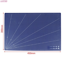 1Pcs A3/A4/A5 PVC Rectangular Grid Line Cutting Mat DIY Tool 45cm X 30cm/30cm X 22cm/21cm X 15cm hotsale