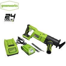 Greenworks с возвратно поступательным движением беспроводные