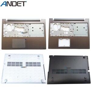 Новый оригинальный чехол для Lenovo IdeaPad Z500 P500, верхний и нижний накладки