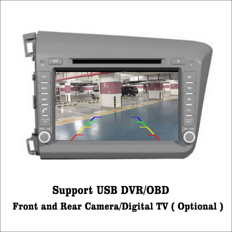 Flash Deal Liislee For Honda Civic LHD 2012~2015 Android 7