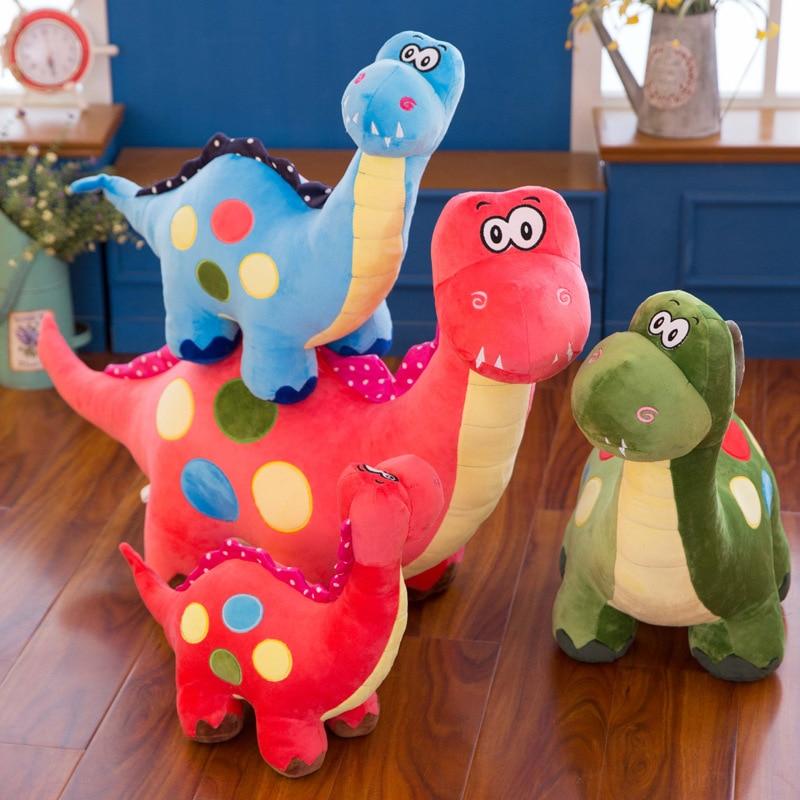 Игрушка плюшевая в виде динозавра, милая кукла дробогона для мальчиков и девочек, подарок на день рождения, 20 см