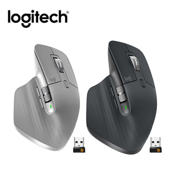 Logitech MX Master 3 2.4GHz Bluetooth Wireless Mouse Dual Mode 4000DPI Adjustable Flow Speed Mice Home Office PC Computer Mouse