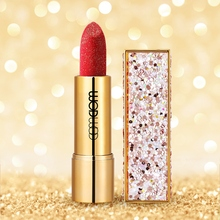 Sexy Glitter Lipstick Velvet Shimmer Diamond Pigment Waterproof Matte Cosmetic Beauty Lips  Tools
