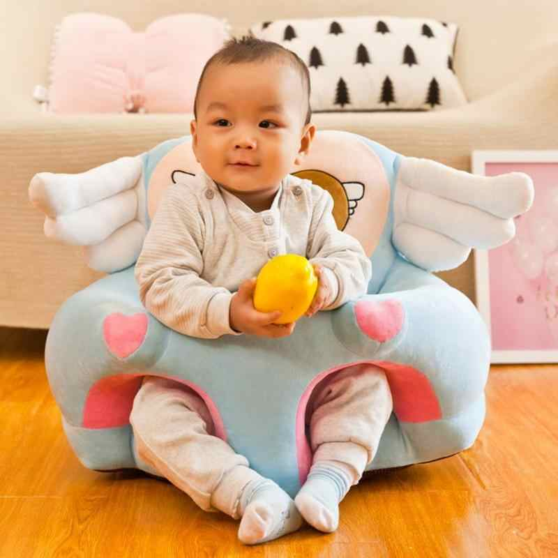 Portable Infants Sofa Support Seat Cover Baby Plush Chair Learning To Sit Neu