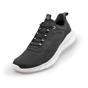 Image 2 - من شاومي سلسلة البيئية FREETIE 39 44 حجم كبير أحذية رياضية للرجال ضوء تنفس الحياكة مدينة تشغيل حذاء رياضة في الهواء الطلق
