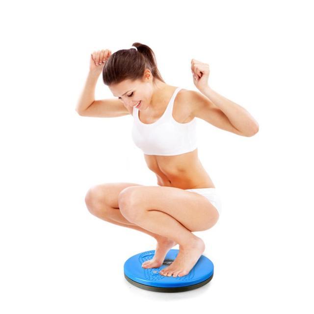 Practical Twist Waist Torsion Disc Board Magnet Aerobic Foot Exercise Yoga Training Health Twist Waist Board Well Sell 2