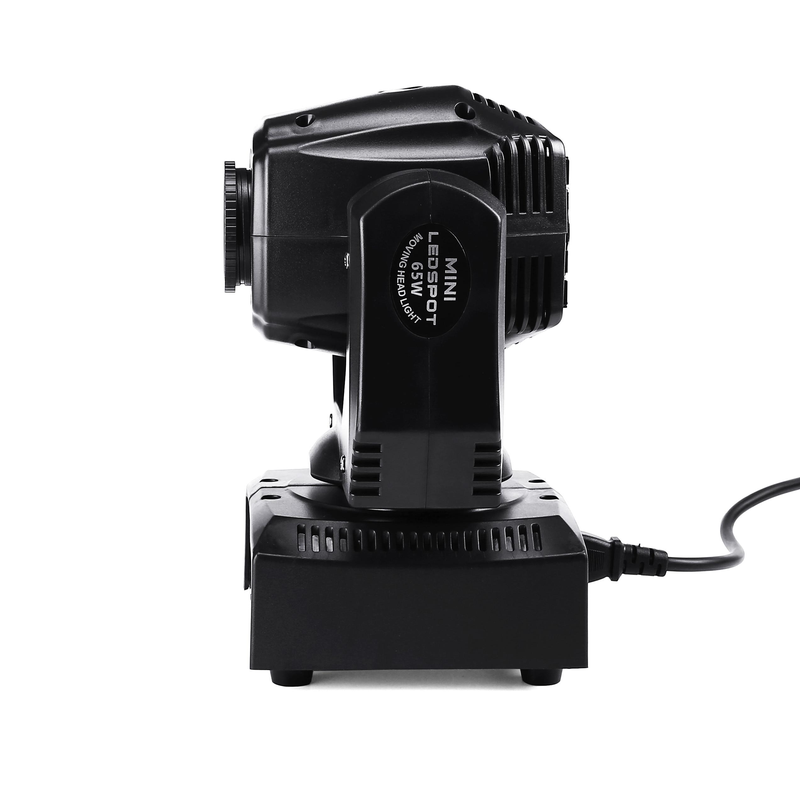 Image 2 - 60W LED Spot Moving Head Light 65W LED DJ Beam Light LED Spot Light with gobo&color wheel Disco DJs Equipmentnt-in Stage Lighting Effect from Lights & Lighting