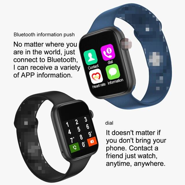 IWO T5 Pro SmartWatch seria 5 pomiar temperatury tętno SmartWatch do mierzenia ciśnienia krwi dla IOS Android zegarek PK IWO 8 13