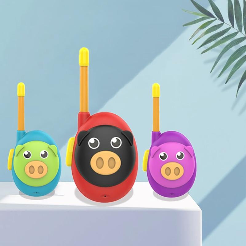 brinquedo interativo presente mini walkie talkie das criancas ao ar livre 05
