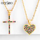 Cross Pendant Neckla...