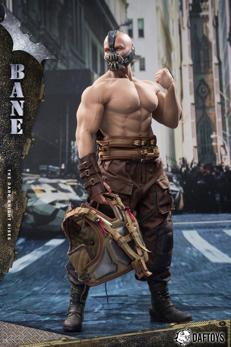 DAFTOYS 1//6 Tom Hardy Batman Bane Battle Ver 12inches Figure Model /& M34 Body