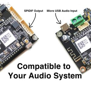 Image 3 - Up2Stream Mini V3 WiFi And Bluetooth 5.0 Audio Receiver Board Module With Spotify Airplay DLNA 24bit 192kHz FLAC Multiroom