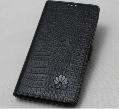 Genuine Leather Flip Phone Cover For Huawei Mate 30 Lite Made Of First-Layer Cowhide