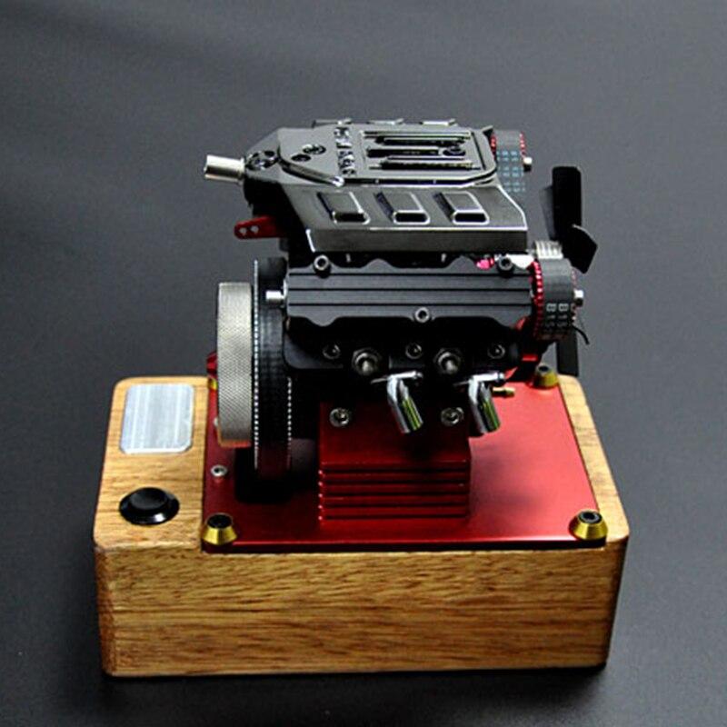 Motor de metanol de cuatro tiempos FS-V400 regalo de cumpleaños para motor V4 Tuoyan - 4