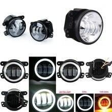 "Paar 30W 4 ""LED Nebel Lichter LED Vorbei Fahren Lampen für 2011 2012 Jeep Grand Cherokee 2005 2010 Chrysler 300"