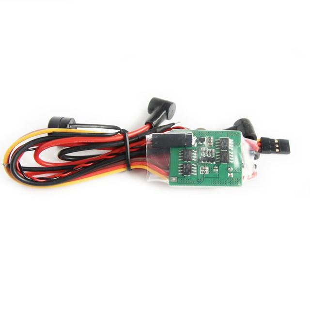 Controlador de enchufe de Nitro de dos cilindros con Control remoto, interruptor de encendido RCD para modelo RC, piezas de bricolaje