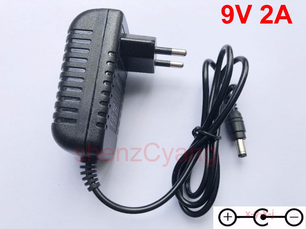 1PCS High Quality AC/DC 9V 2A HISPEEDIDO New Replacement Adapter Power Supply Adapter Charger For Sega Megadrive 1 MD1 Genesis 1