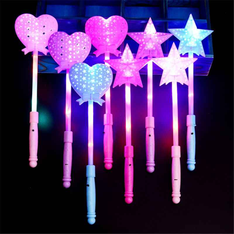 3 Modes LED Wand Toys Flashing Light Up Glow Stick Toys Party Favors Kids Toy