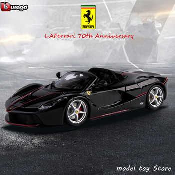 Bburago 1:24 Ferrari High-imitation Car Model Die-casting Metal Model Children Toy Boyfriend Gift Simulated Alloy Car Collection - DISCOUNT ITEM  47% OFF All Category