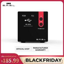 SMSL M300 Audio DAC AK4497 Hifi dekoder Native DSD512 PCM768kHz optyczne USB wejście koncentryczne symetryczne wyjście czarny niebieski czerwony