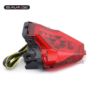 Image 4 - LED para YAMAHA MT 07 FZ 07 14 17, MT 25 YZF R3 R25 2013 2018 LED integrado indicador de señal de giro trasera moto B