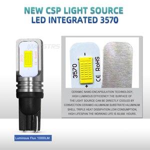 Image 4 - 2x T10 CANBUS Kein FEHLER W5W 168 194 3570 Chip LED 72W Auto Anzeige Ersatz Licht Keil Parkplatz Bulbs lampen Auto Lichtquelle