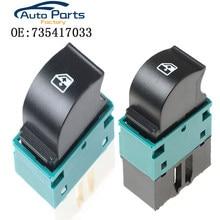 Nuovo di Alta Qualità Elettrico Finestra di Controllo Interruttore Per Fiat Doblo 2005 735417033