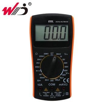 Multímetro Digital VC830L, 2000 recuentos CA CC, medidor de voltaje, amperímetro, medidor de corriente, multímetro Digital de rango Manual