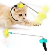 Interactive Cat Toy, Automatically Play with Cat, Reduce Pet Anxiety, Kitten Toy Cat Supplies