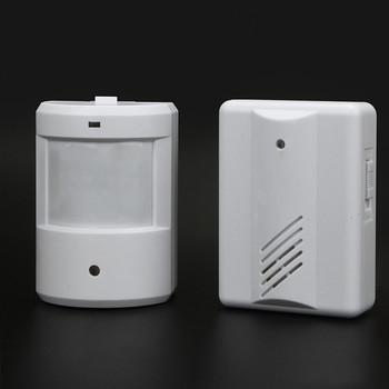 Home Security Wireless IR Remote Doorbell Alarm System Wireless Detector Alarm Patrol Garage Infrared Anti-theft Motion Sensor doberman security entry defender with chime infrared motion detection home alert sensor ir doorbell home security alarm system