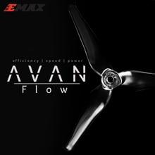RC ใบพัด,10 คู่/ล็อต EMAX AVAN Flow 5x4.3x3mm 5 นิ้ว 3 ใบพัดใบพัด Props 5CW + 5CCW สำหรับ RC Drone