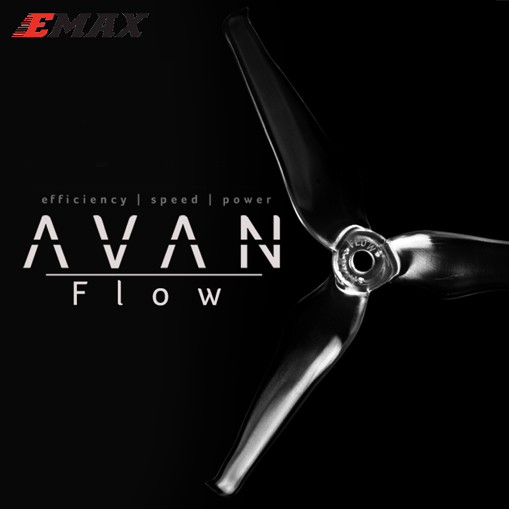 RC Propeller,10pair/lot EMAX AVAN Flow 5x4.3x3mm 5 Inch 3 Blades Propeller Props 5CW+5CCW For RC DroneParts & Accessories   -