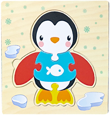 Baby Toys Wooden 3d Puzzle Tangram Shapes Learning Cartoon Animal Intelligence Jigsaw Puzzle Toys For Children Educational 18