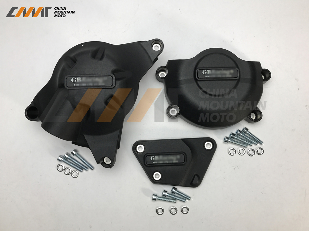 Motocicletas caso de proteção capa do motor para gb caso de corrida para yamaha yzf600 r6 2006-2019