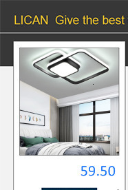 H2de12398fa1b4f49899cddb52a04802ek Bedroom Living room Ceiling Lights Lamp Modern lustre de plafond moderne Dimming Acrylic Modern LED Ceiling lamp for bedroom