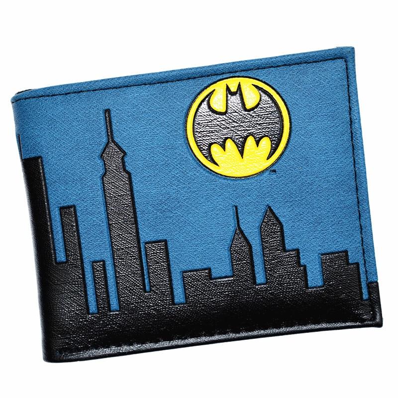 Cool Design Batman Wallet DC Justice League Purse High Quality Men's Wallets With Coin Pocket