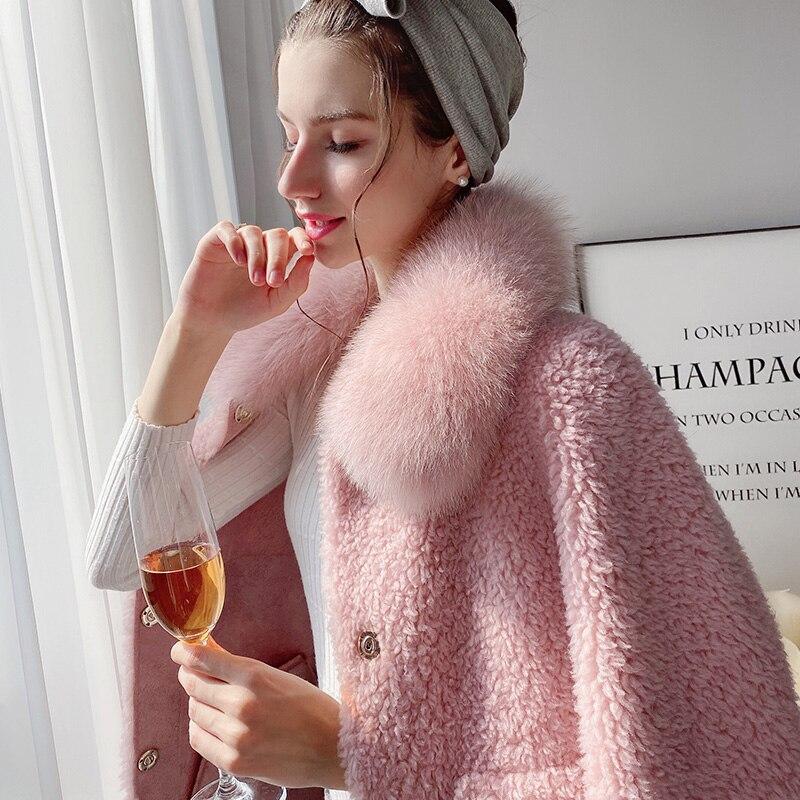 Купить dabuwawa элегантное платье розового цвета с длинным ворсом женское