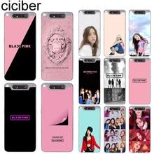 ciciber Phone Cases for Samsung Galaxy A50 A70 A80 A40 A30 A20 A60 A10 A20e Soft Silicone TPU Cover BLACKPINK Fundas Coque Capa