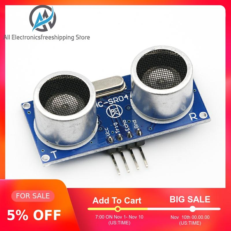 10PCS HC-SR04 to world Ultrasonic Wave Detector Ranging Module for arduino Distance Sensor image
