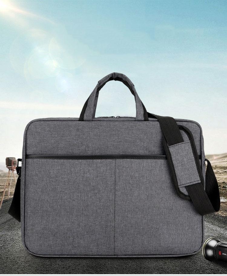 2020 Briefcase Men Handbag Large Capacity Portable Thin Super Multifunction Big Size 15.6 inches Designer Laptop Handbags