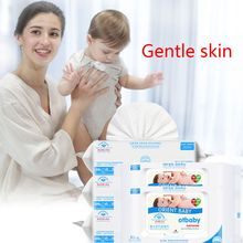 80 Sheets Baby Wipes Lid Baby Wet Wipes with Lid Portable Child Wet Tissues ,Irritant-Free Cleansing Wet Wipes wet wipes chicco cleansing wipes for breast 80 pcs 0 kidwetwipes